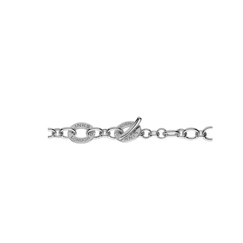 Sterling Silver Baby Disc Charm Bracelet