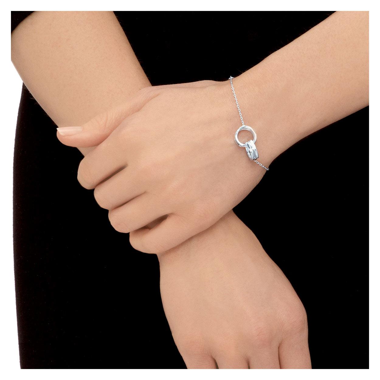 91eb7ccd2755 20/20 Sterling Silver Interlocking Bracelet. Home>Brands>Links ...