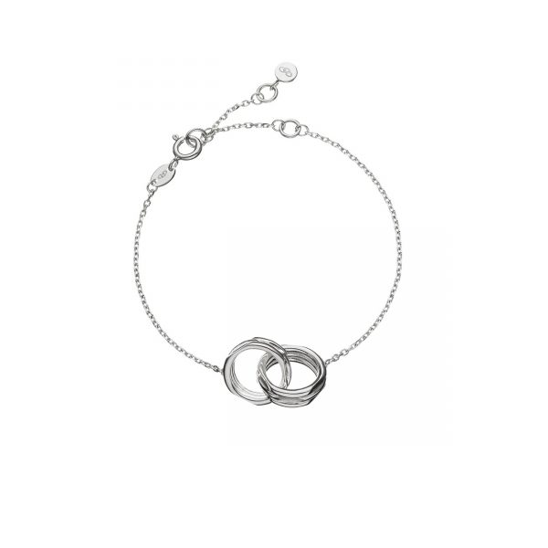 20/20 Sterling Silver Interlocking Bracelet