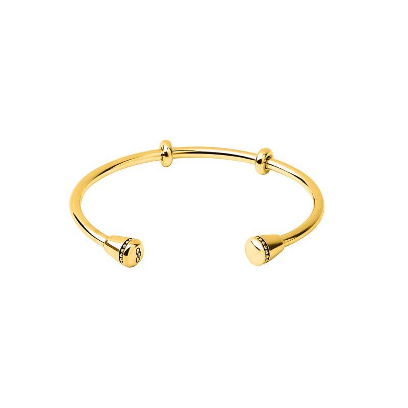 Amulet 18kt Yellow Gold Vermeil Charm Cuff