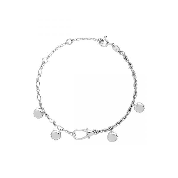 Amulet Silver Carabiner Bracelet