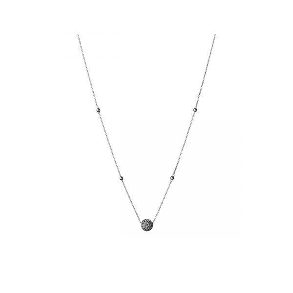 Effervescence Sterling Silver Bubble Necklace