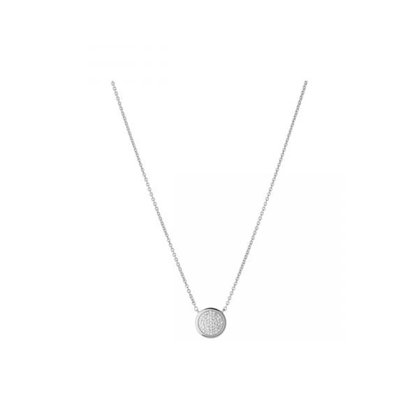 Diamond Essentials Silver & Diamond Pave Necklace