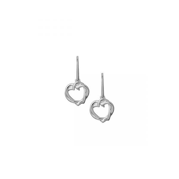 Kindred Soul Sterling Silver Hook Earrings