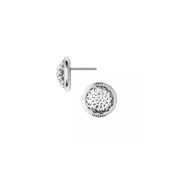 Timeless Silver Stud Earrings