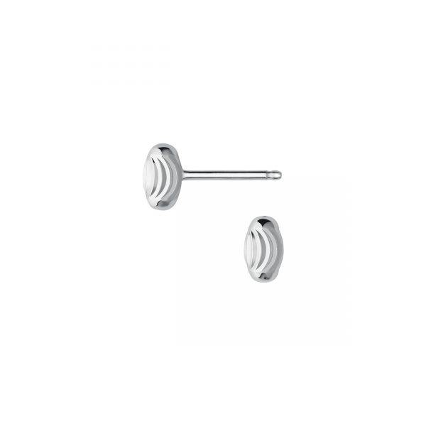 Essentials Sterling Silver Beaded Stud Earrings