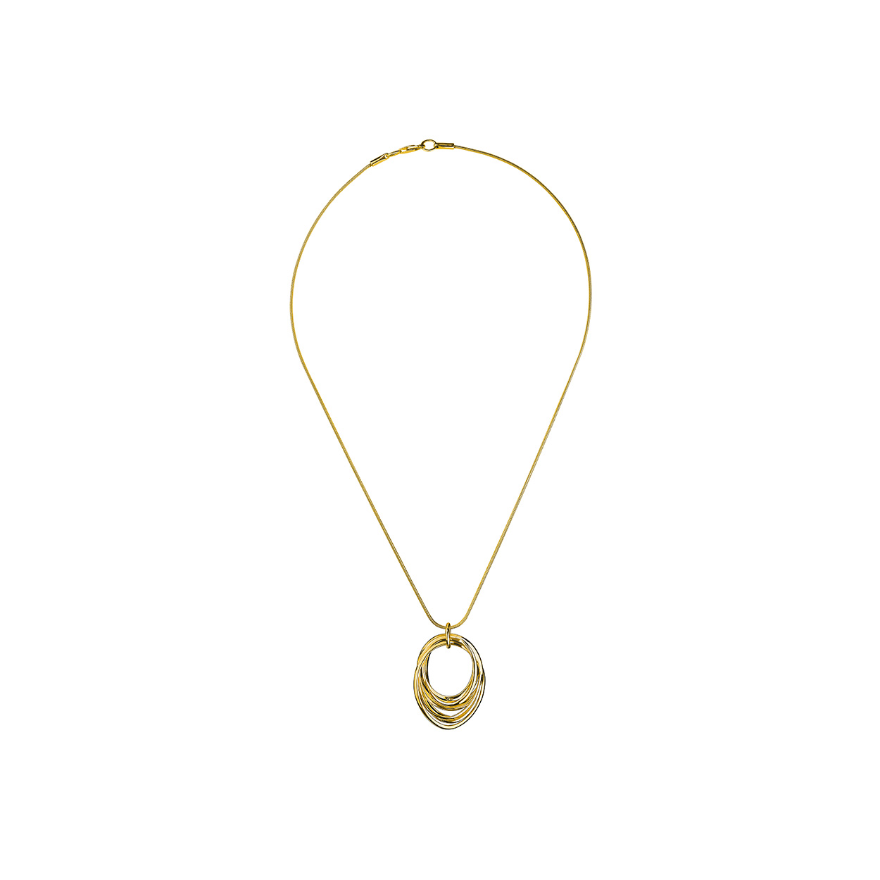 hot product pick up classic style Calvin Klein - Gold Crisp Necklace