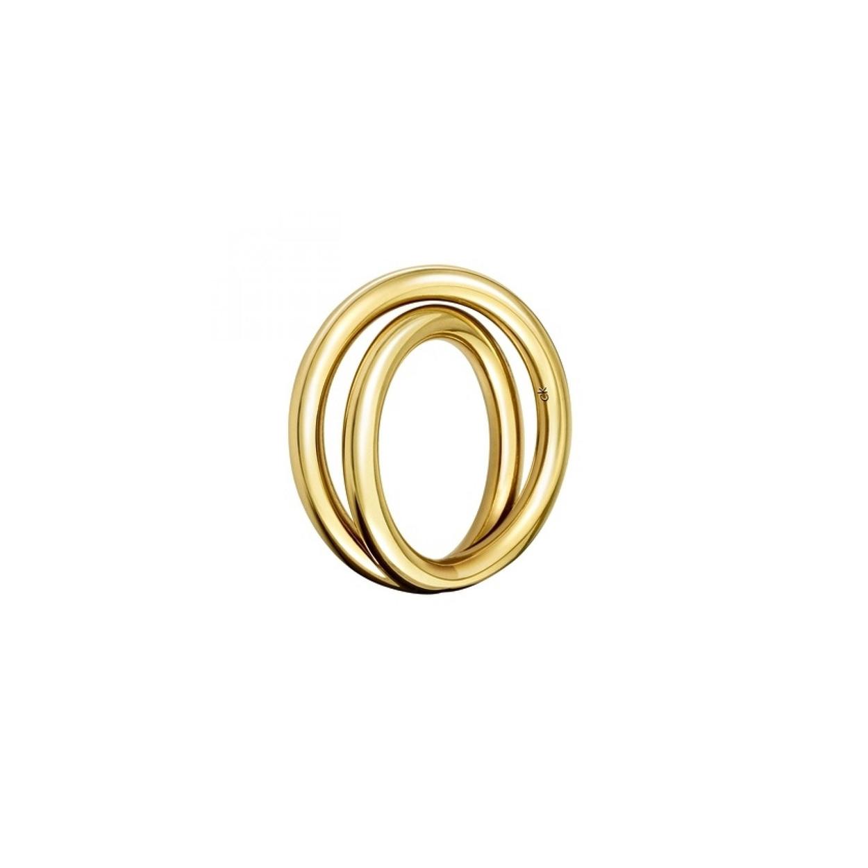 Calvin Klein - Yellow Gold Continue Ring