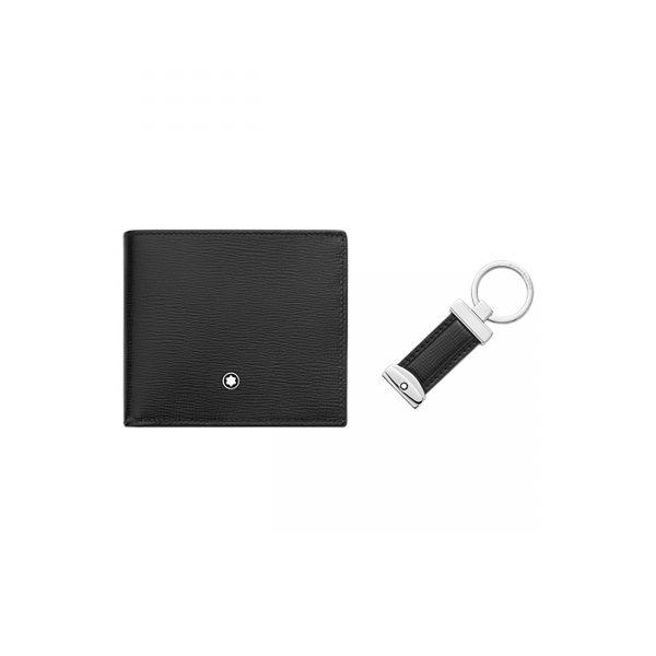 Mont Blanc Meisterstück Gift Set Wallet 6cc & Key Fob