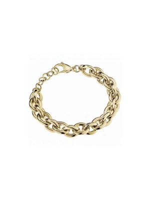 Calvin Klein Gold Tone Statement Collection Bracelet
