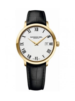 Toccata Men's Classic PVD Gold White Dial