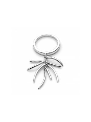 Rachel Galley Silver Molto Ring (Medium - Size N)