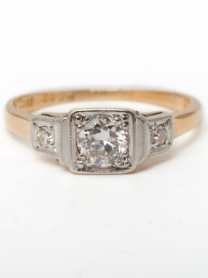 Pre Owned Single Stone Diamond Ring