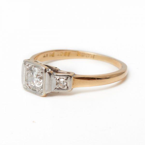 Pre Owned Single Stone Diamond Ring