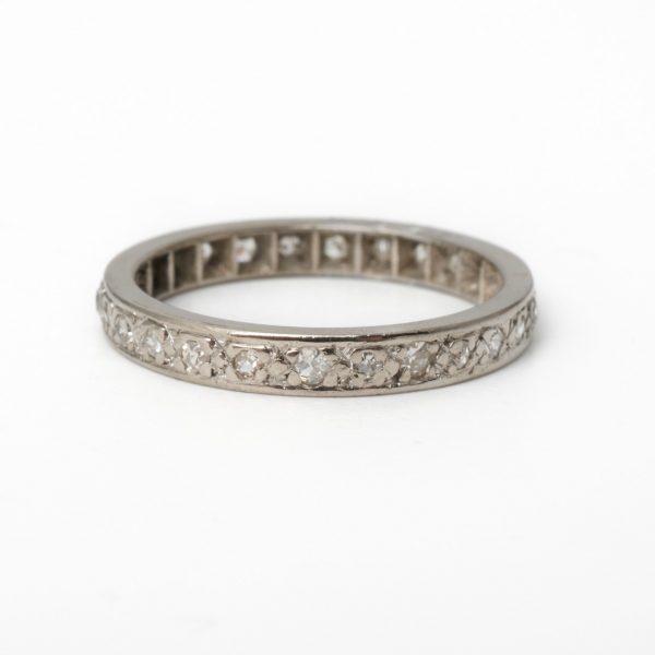 Pre Owned Platinum Full Eternity Ring