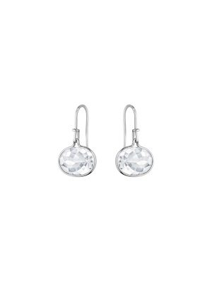 Georg Jensen Savannah Rock Crystal Drop Earrings
