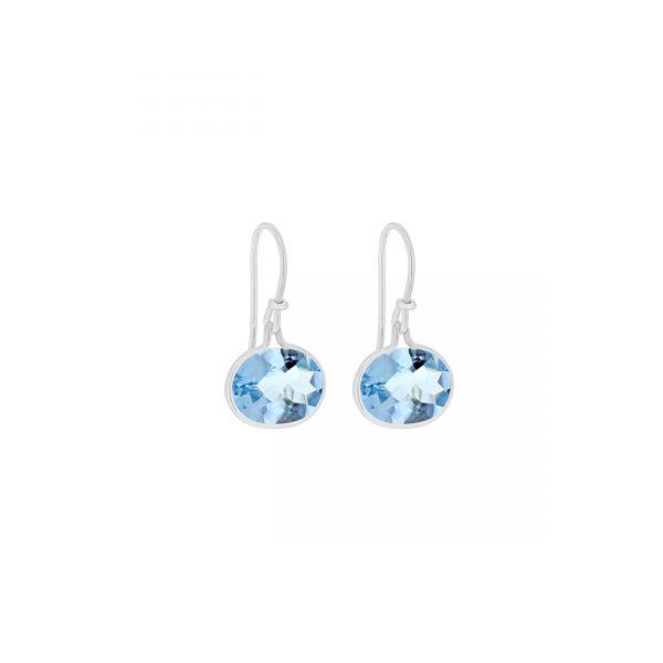 Georg Jensen Savannah Blue Topaz Drop Earrings