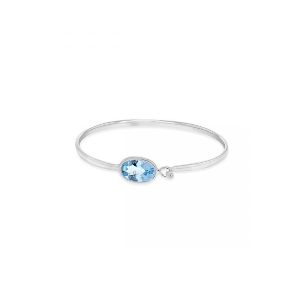 Georg Jensen Savannah Blue Topaz Bangle