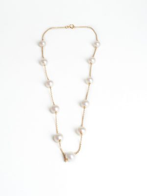 18ct Cultured Pearl Necklace