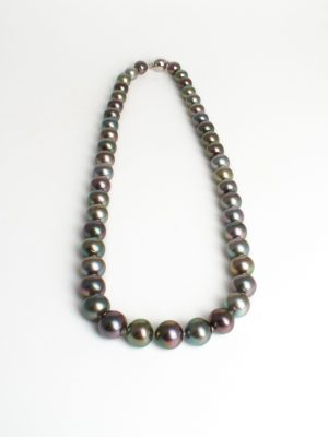 18ct White Gold Tahitian Pearl Necklace