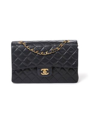 Pre Owned Chanel Medium Double Flap Handbag