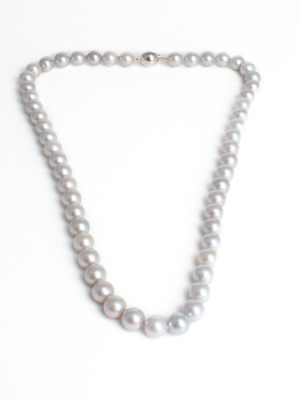 Cultured Pearl Necklace 9ct Clasp
