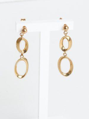 9ct Yellow Gold Drop Earrings