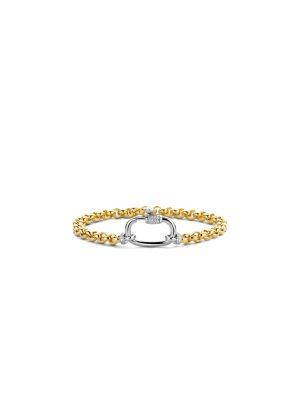 Ti Sento Vermeil Chain Link Bracelet