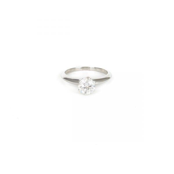 Pre Owned Platnium Tiffany Ring