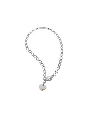 Links of London Essentials Silver Classic Heart Necklace