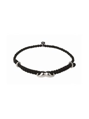 Links of London Movember Black Cord Bracelet