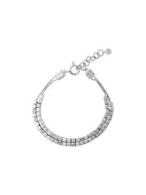 Links of London Cubist Double Row Bracelet