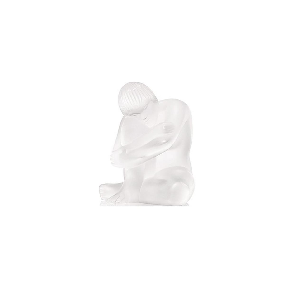 Lalique Nude Sage Figure - FJ Zelley